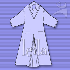 LEILA COZY CAFTAN DRESS
