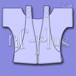 RIF-PLUS CUT-OUT POCKET TOP