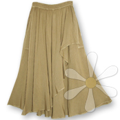SHALAL ELEGANT DRAPED SKIRT