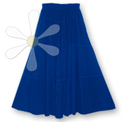 TIRAZ TERRACE TIERED SKIRT