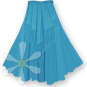 FANEEDA FRINGED SKIRT