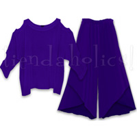 <STRIKE>TIZI TOP, TULUL PANTS</STRIKE><B>SOLD!</B>