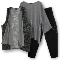 <STRIKE>MONOCHROMATIC PANT SET #11</STRIKE> <B>SOLD</B>