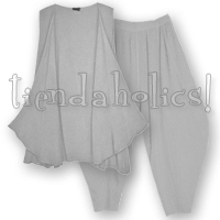 <STRIKE>ZHILI VEST, MARRAKECH PANTS</STRIKE> <B>SOLD</B>