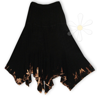 <STRIKE>CHUCHU-SPECIAL SKIRT (EXCLUSIVE DIP-DYE)</STRIKE> <B>SOLD</B>