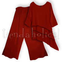 <STRIKE>NAFURA TOP, SARIFI-PETITE PANTS</STRIKE> <B>SOLD</B>