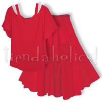 <STRIKE>TANTAN TOP, FANEEDA SKIRT</STRIKE> <B>SOLD</B>