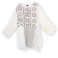 <STRIKE>HASNA MULTI-PANEL TOP</STRIKE><B>SOLD</B>