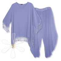 <STRIKE>FEZZAH TUNIC, MARRAKECH PANTS</STRIKE> <B>SOLD</B>