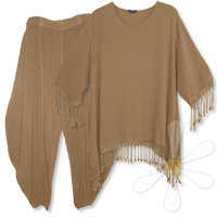 <STRIKE>FEZZAH-PLUS TUNIC, MARRAKECH PANTS</STRIKE> <B>SOLD</B>