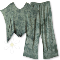 <STRIKE>MIMI TOP, HUDU PANTS</STRIKE> <B>SOLD</B>