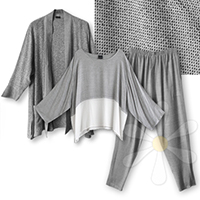 CHAFRA, ISHIMA, IBRI<BR>(LIGHT SILVER COMBO) SAVE $32